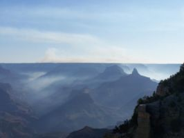 Smoke Filled Canyon 2 by borgking001a