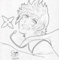 I will fight lineart by Kris1997