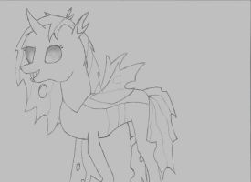 OC Drawing: Thorny Rose by UltimaCreations