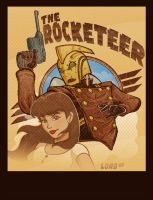 Rocketeer Commish by lordmesa