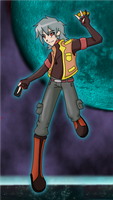 Bakugan OC - Jericho by StarXrossed
