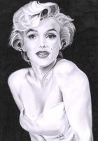 marilyn monroe by myorphic