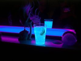 Lighting drink by Microkey