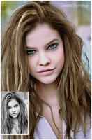 Colorized Barbara Palvin by meygidesigns