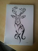 Deer by Carlitos-Girl