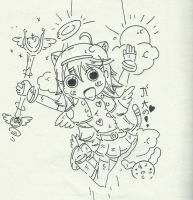 Another PPG Z inspired girl (sketch only) by NotOriginalUsername