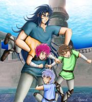 Kanon and Little Mariners by arianna78