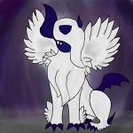Mega absol (spoilers !!!) by Arc1996