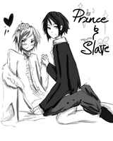 Prince and Slave by Aii-luv