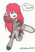 Art trade: Grell by cradlingdarkness