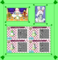 Animal Crossing New Leaf Kiruminzuu QR Code 2 by SuperAngel502
