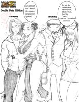 Super Street Fighter IV: Double Date Edition :D by JassyCoCo