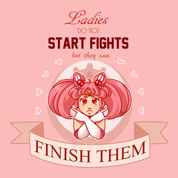 Ladies do not Start Fights by Ppeacht