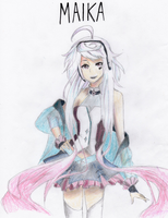 MAIKA: Spanish Vocaloid by PWheartgal