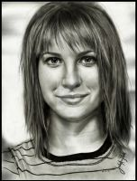 Hayley Williams of Paramore by JAF-Artwork