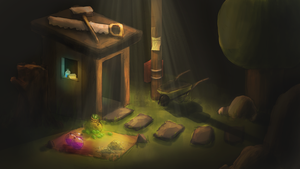 Clash of Clans - Builder's Hut by Nocturno-Anular