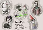 Doodle Session 12-19-14 by WitTea