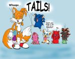 Tails' experiment No.1 by Phoeline