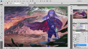 Fire Emblem: Awakening - Work in Progress by Shinigamiwyvern