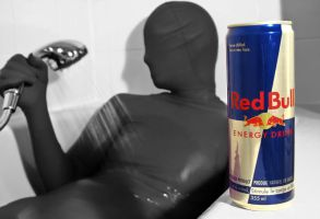 Red bull energizes you body by Maxianos