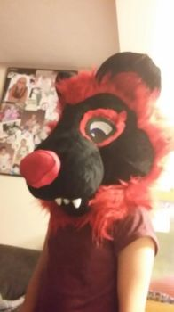 Amra Fursuit wip  by Sydnut