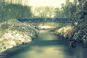Blue Bridge by Y-o-u-s-u-f