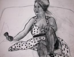 August 2, 2011 Charcoal by hEyJude4