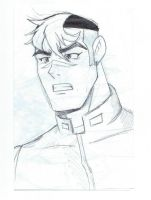 Voltron: Legendary Defender - Shiro Sketch by furrychaos