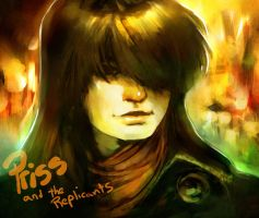 priss and the replicants by punchyninja