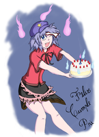 yoshika happy birthday by pablocygnus
