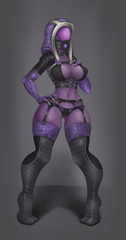 Tali Commission by ImpracticalArt