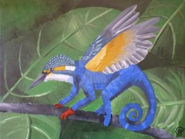 Hybrid painting by HopeDragon