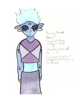 Infiniyte OC (I don't know her name yet....) by EnderDurant