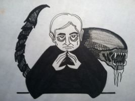 H. R. Giger by AperatureScience