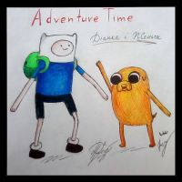 Adventure Time by Colibriana