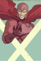 Magneto  XMen  Days of Future Past by DavidRapozaArt
