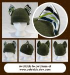 Bamboo Cat Hat by cutekick