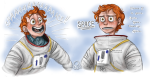 i'm the best at space by VinDeamer