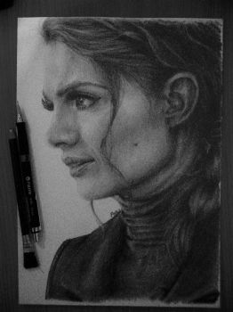 Kate Beckett by fishglow