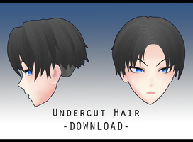 Undercut Hair [ DOWNLOAD ] by avant----garde