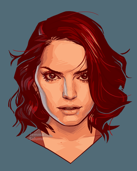 Daisy Ridley by oxboxer