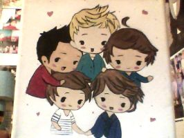 One Direction. by cosmic-monkey-party