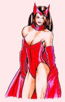 Scarlet Witch-Colored by r-i-p-p-l-e