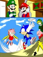 Amy+Feather cape makes speed? by WolfTotem1
