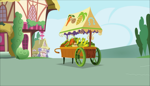 [Background] Veggie cart by TriteBristle