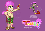 Tombi Re-Design Sheet by TheMonkeyWrench