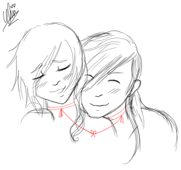 red string of fate by ChiiLyricalSymphony