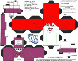 DC SH41: The Joker's Daughter Cubee by TheFlyingDachshund