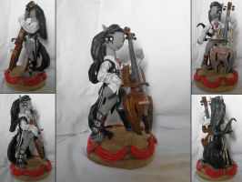 Octavia sculpture by RetardedDogProductns