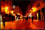 Paris by night by Psychasthenique